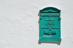 zielenieje postbox Zdjęcia Royalty Free