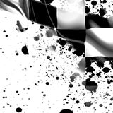 Zielflagge stock abbildung