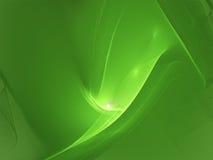 zieloną falę Obrazy Royalty Free
