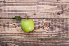 - zieloną jabłko Fotografia Stock