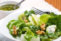 zieloną sałatkę ostrza sweet Fotografia Stock