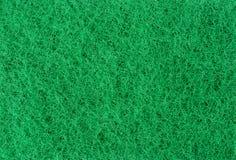 Zielona ścierna gąbki tekstura Fotografia Royalty Free