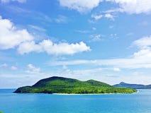 Zielona świeża wyspa Zdjęcie Stock