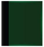 Zielona album pokrywa ilustracja wektor