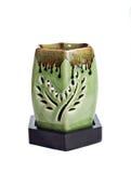 zielona aromat lampa Obrazy Stock