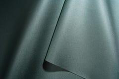 Zielona błyszcząca tkanina Obrazy Stock