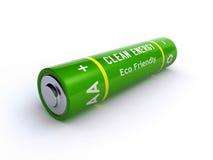 Zielona bateria Zdjęcia Stock