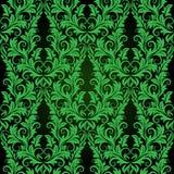 zielona bezszwowa tapeta Obrazy Royalty Free