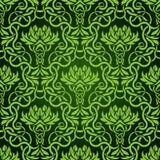 zielona bezszwowa tapeta Zdjęcie Royalty Free