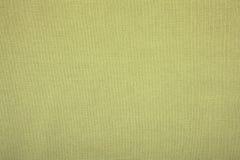 Zielona bieliźniana kanwa jako wielka tekstura Zdjęcia Royalty Free