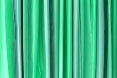 Zielona brzmienie zasłona zdjęcie stock