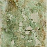 Zielona ceramiczna tekstura Fotografia Stock