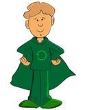 Zielona chłopiec Obraz Stock