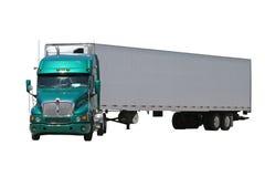 zielona ciężarówka Fotografia Royalty Free