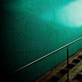 zielona ściana Fotografia Royalty Free