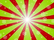 zielona czerwień Obrazy Royalty Free