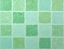 Zielona Dachówkowa tekstura Obraz Royalty Free