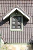 Zielona dachowa płytka Obrazy Royalty Free