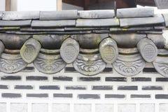 Zielona dachowa płytka Zdjęcie Royalty Free
