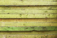 Zielona deski tekstura Obraz Stock