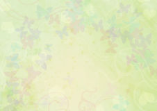 zielona desktop tapeta Zdjęcia Stock