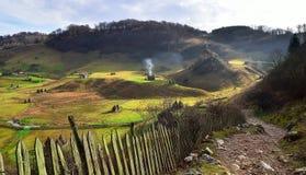 zielona dolina Zdjęcie Stock