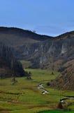 zielona dolina Fotografia Royalty Free