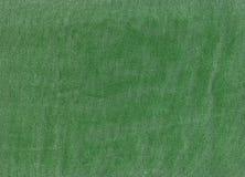 Zielona drelichowa tekstylna tekstura Zdjęcie Stock