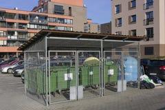 Zielona eco miasta usługa Obraz Royalty Free