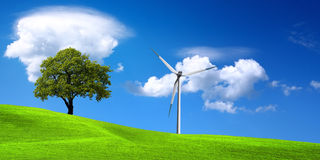 zielona ekologii natura Obrazy Royalty Free