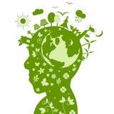 Zielona ekologii natury ochrona Zdjęcie Stock