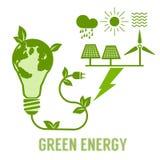 Zielona ekologii natury ochrona Zdjęcia Royalty Free