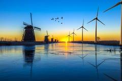 Zielona energetyczna przemiana Zdjęcia Stock