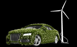 zielona energia Zdjęcie Stock