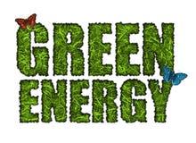 Zielona energia ilustracja wektor