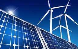 Zielona energia Obraz Stock