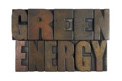 Zielona energia Obraz Royalty Free
