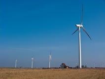 Zielona energia dla dom na wsi Zdjęcia Stock