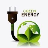 Zielona energia i ekologia Fotografia Stock