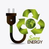 Zielona energia i ekologia Obrazy Royalty Free