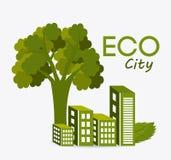 Zielona energia i ekologia Zdjęcie Stock