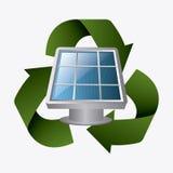 Zielona energia i ekologia Zdjęcie Royalty Free
