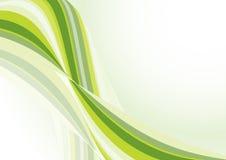 zielona fala Zdjęcie Stock