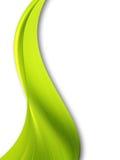 zielona fala Zdjęcia Stock