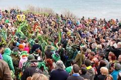 zielona festiwal dźwigarka obraz royalty free