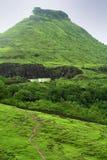 zielona góra krajobrazowa Obraz Royalty Free