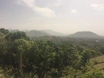 zielona góra krajobrazowa Fotografia Royalty Free
