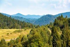 zielona góra krajobrazowa Zdjęcia Royalty Free