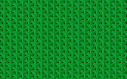 Zielona geometryczna tekstura Zdjęcie Stock