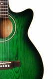 zielona gitara Obraz Royalty Free